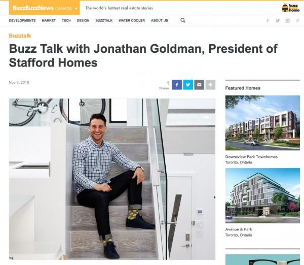 Buzz Talk with Jonathan Goldman
