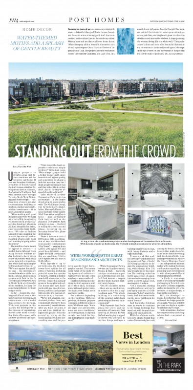 Standing out from the crowd - Stafford Homes